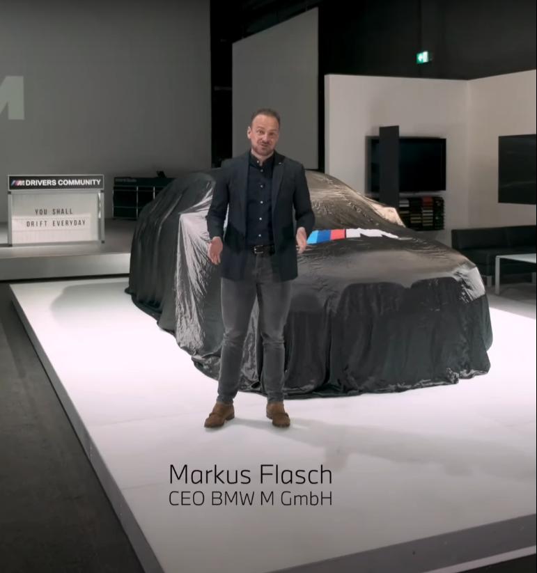 New 626bhp BMW M5 CS teased ahead of debut