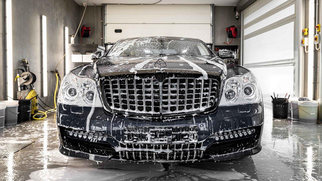 Мастерская Topaz Detailing, занимающаяся окраской и детализацией авто, смогла заполучить в свои руки купе-версию Maybach 57 с суффиксом SC. Ролик длиной 15 минут демонстрирует весь процесс замены лакокрасочного покрытия.