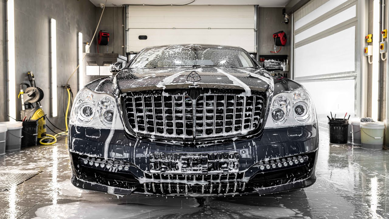 """Topaz Detailing has unveiled one of its latest creations: a Maybach 57 """"SC"""" by Xenatec with a fresh premium paint coat. Watch the full 15-minute video for an in-depth look into the project."""