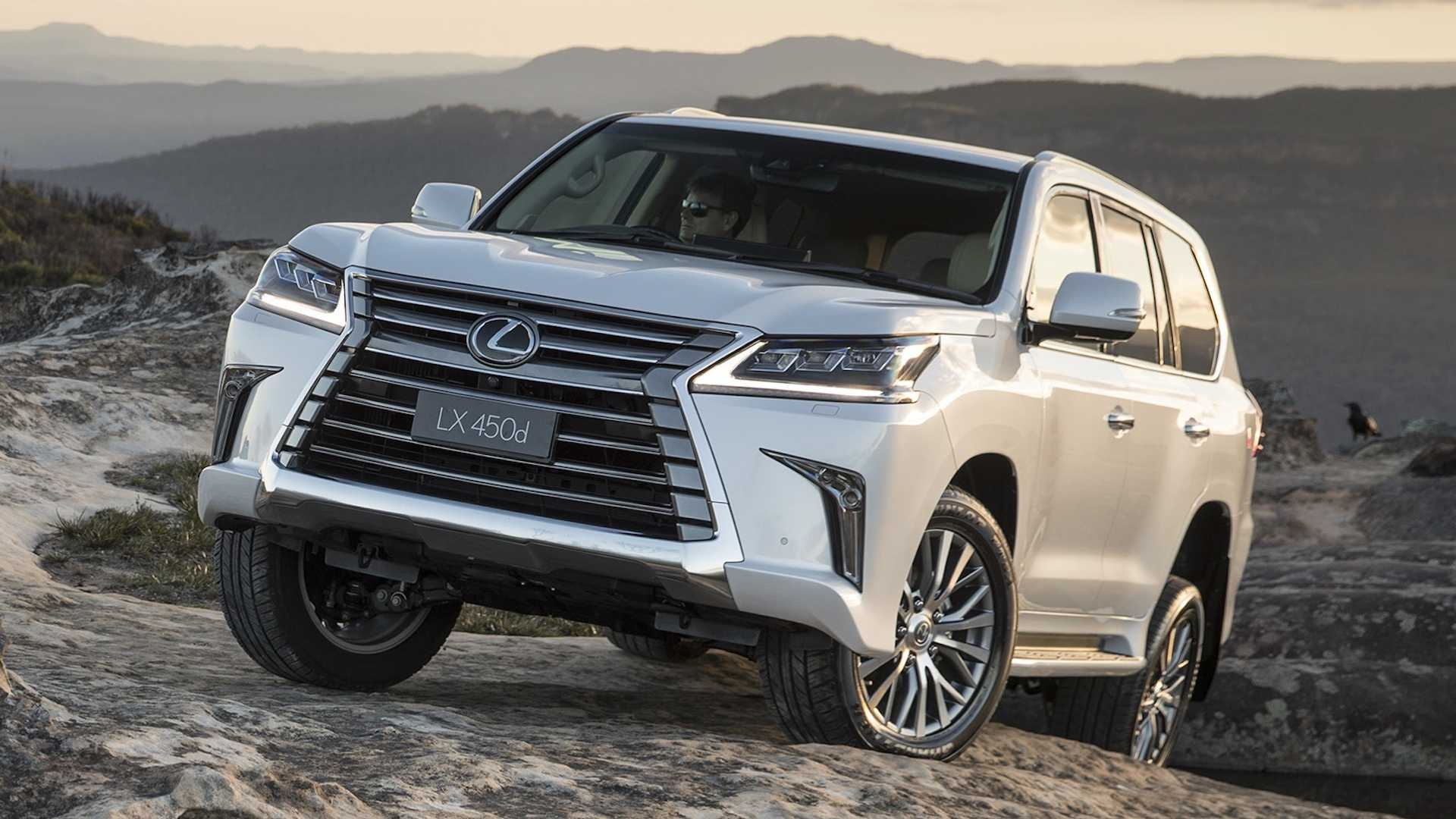 Unofficial reports are coming in that a body-on-frame SUV larger than the current LX model is in the works at Lexus. No official comment has been made yet.
