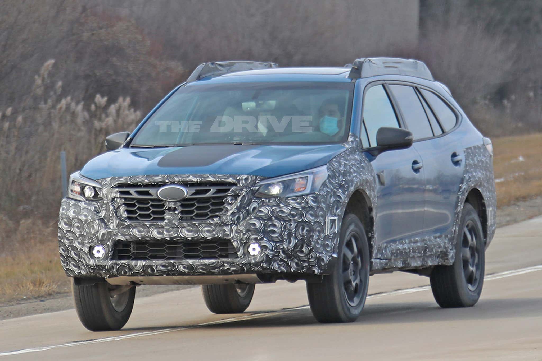 Subaru is testing the high-riding Wilderness Edition of its Outback wagon, which should go on sale before mid-2021.