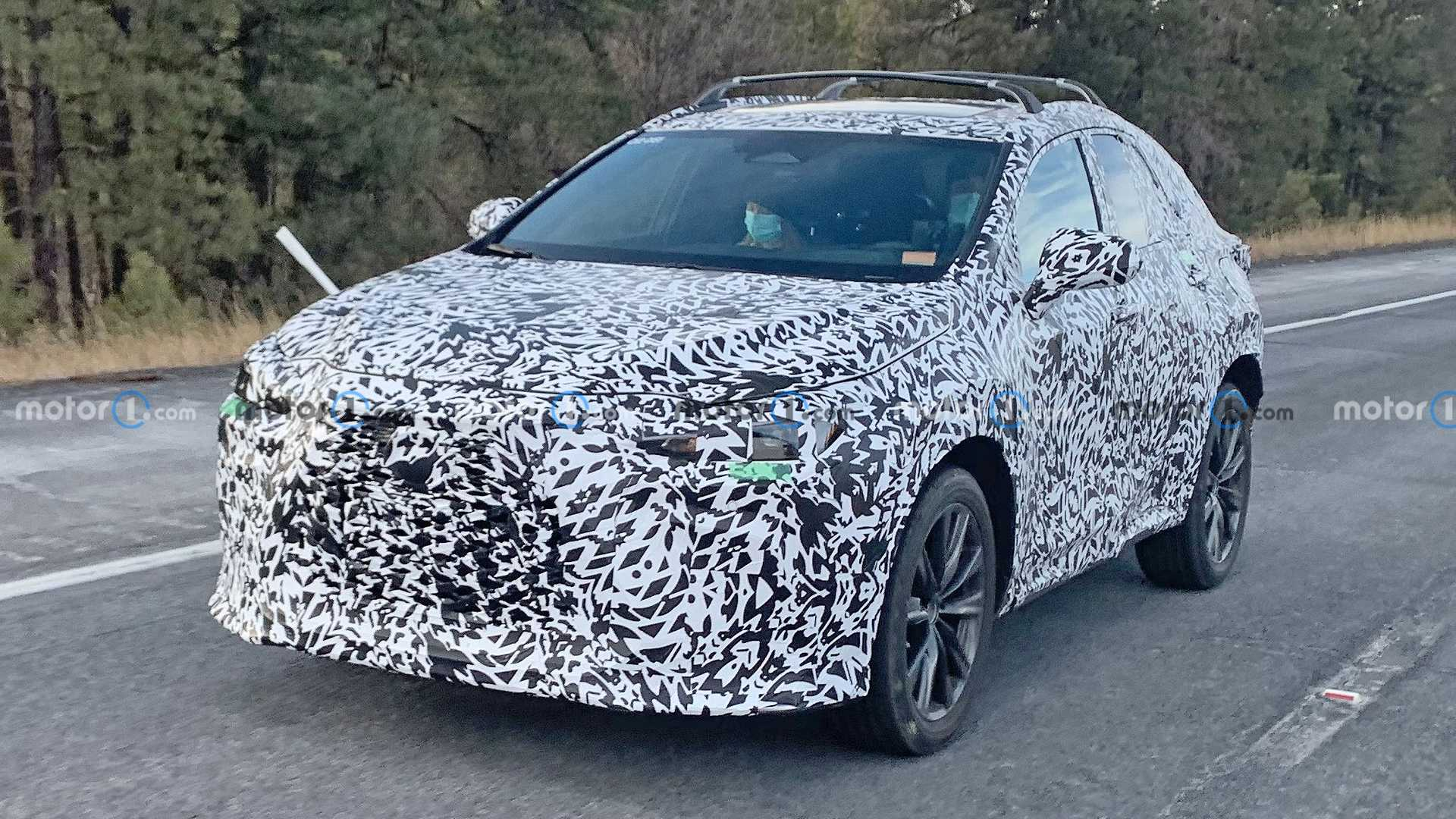 The second generation of the Lexus NX is due out by the end of the year – no wonder the company is already testing it on highways.