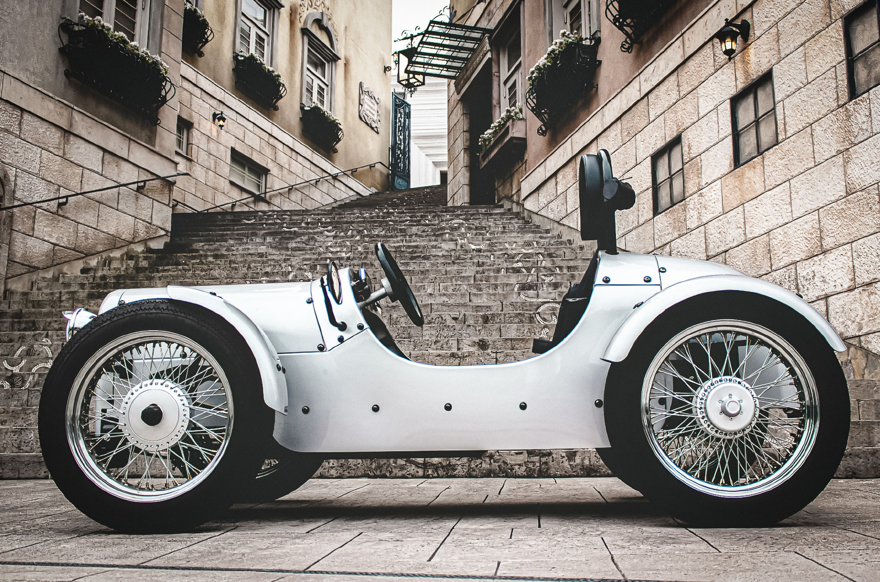 Japanese company Blaze has unveiled its newest project named EV Classic. The electric car is a stylish homage to the vintage rides of the early twentieth century. Ordering is available from 880,000 Yen ($8,470 USD at current rates).