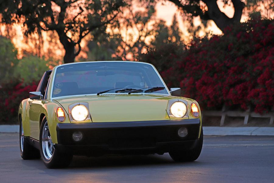 Andy Thonet had long dreamt about owning the perfect Porsche 914/6 Targa roadster, but could never quite get his hands on a well-maintained six-cylinder version, so he decided to build one himself.