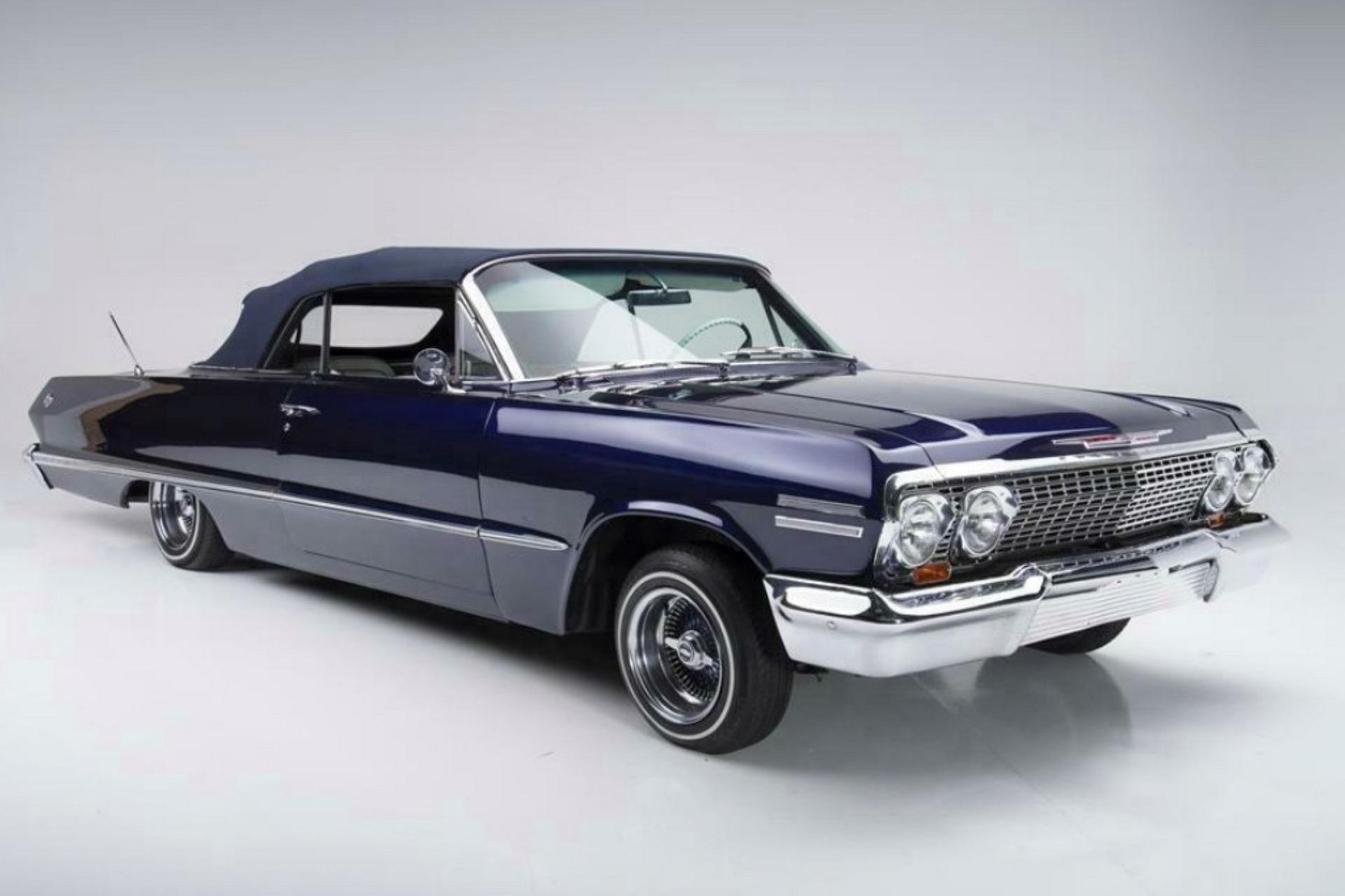 Найти на вторичном рынке заниженный «в асфальт» Chevrolet Impala довольно легко – типичный вариант показан на видео. Но «Импала» знаменитого баскетболиста Коби Брайанта – совсем другой автомобиль.