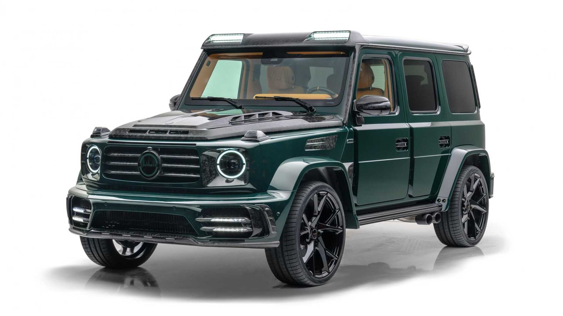 Mansory is no stranger to turning Mercedes-Benz G-Class SUVs into armored cars or even pickup trucks, and while the Gronos is neither, it still packs plenty of innate charm and charisma.