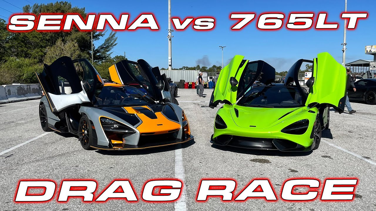 We all know that the McLaren Senna has been designed with track use in mind, what with its 4.0-liter V8 TT and an aero kit born to put boastful dragsters to shame. But how about pitting it up against another one of its kin?