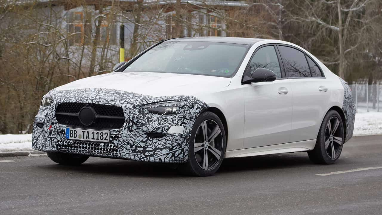 Mercedes-Benz has confirmed that the fifth-generation C-Class lacks six- and eight-cylinder options, and none will be coming later. Turbo-four hybrids are the only way to go, and this is why.