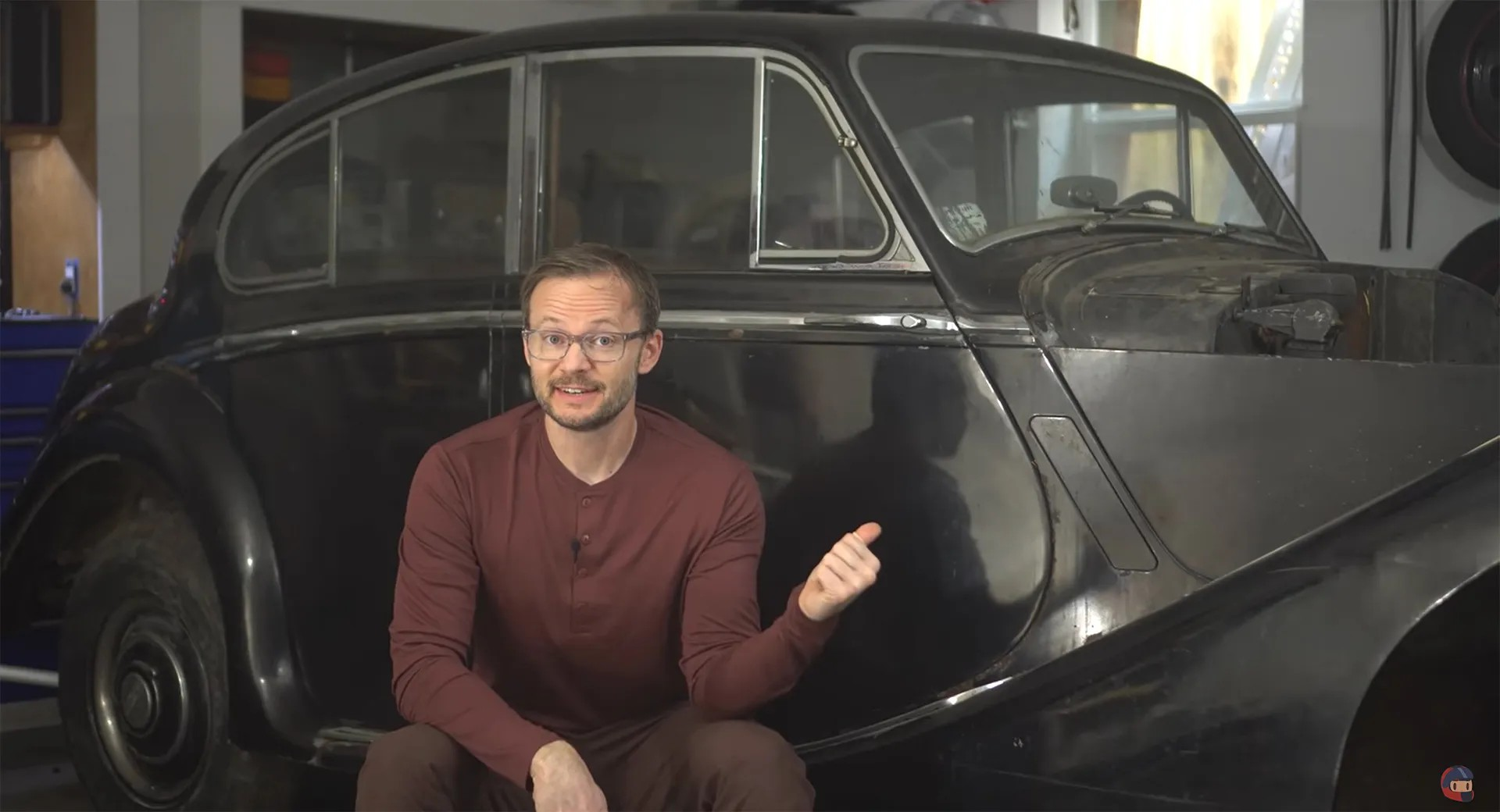 YouTuber SuperfastMatt actually intends to convert an ancient 1950 Jaguar Mark V into a battery vehicle using Tesla Model 3 parts. Here's his statement.