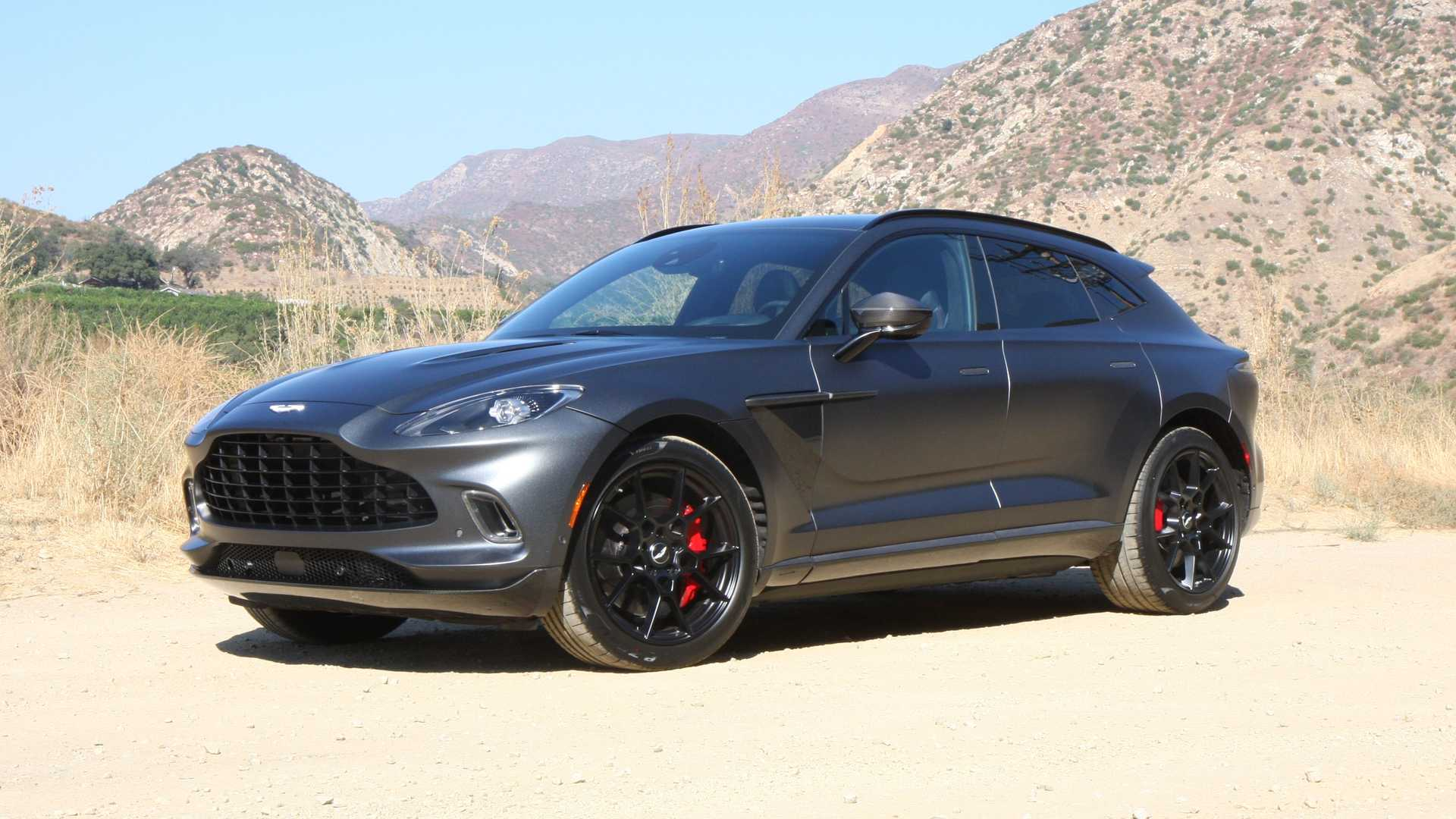 Aston Martin's first SUV in history – only ships with a V8 in the United States so far, but the carmaker will be unveiling a different take on it later this year.