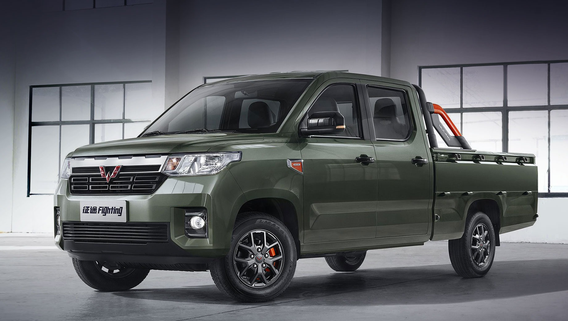 Wuling has started taking pre-orders for its newest body-on-frame pickup truck, the Zhengtu. Prices start as low as 59,800 Yuan (9,230 USD).
