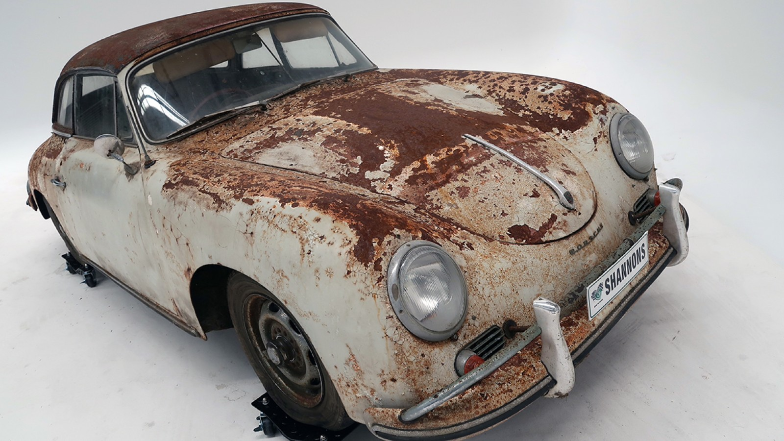 Well, someone did just that! At a recent auction, this 63-year-old Porsche 356A fetched $230,000 AUD, surprising even the auction holders. Throwing in an extra $6,000 AUD would net the buyer of this rust bucket a brand-new 911.