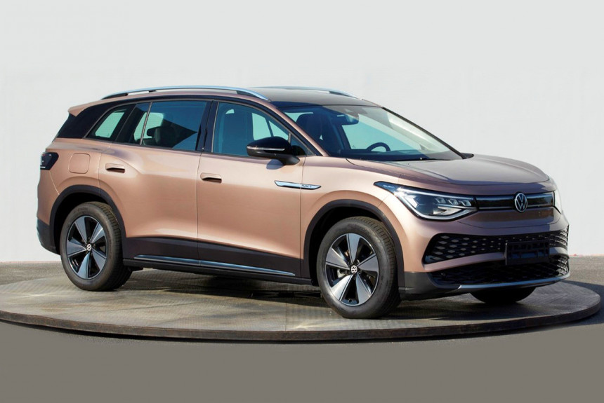 After launching its compact-sized ID.4 CUV and ID.3 hatchback, Volkswagen is getting ready to premiere its third all-electric model, the ID.4. The large SUV is slated for Auto Shanghai show premiere in April, but in the meantime, we may throw a glance at its specs.