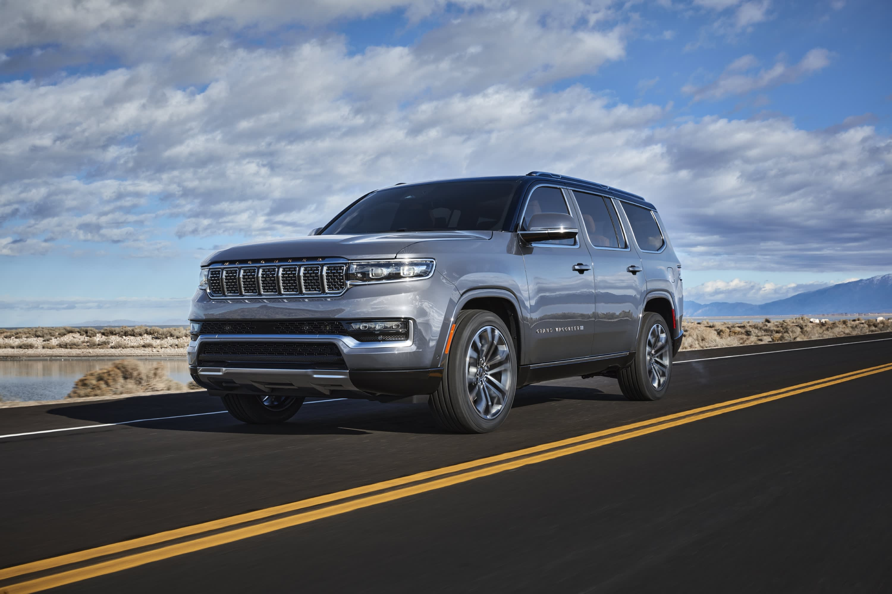 The Jeep Grand Wagoneer Concept from last year has finally made it into production along with its trimmed-down variant, the not-so-grand Wagoneer.
