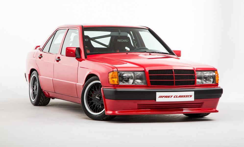 Tuner Brabus made an obscenely expensive and unique custom car based on the Mercedes 190 E (W201) back in the late 1980s, and a mere replica of it is now on sale for €100,000. Not to worry, though: it is more authentic than the original. Look, just read on.
