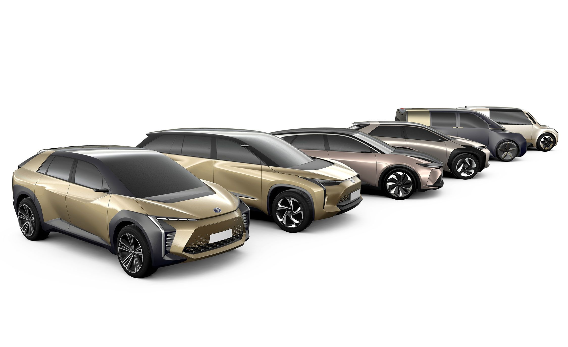 Toyota will be selling its battery vehicles under a new brand named BZ, which stands for 'Beyond Zero' and refers to harmful emissions.