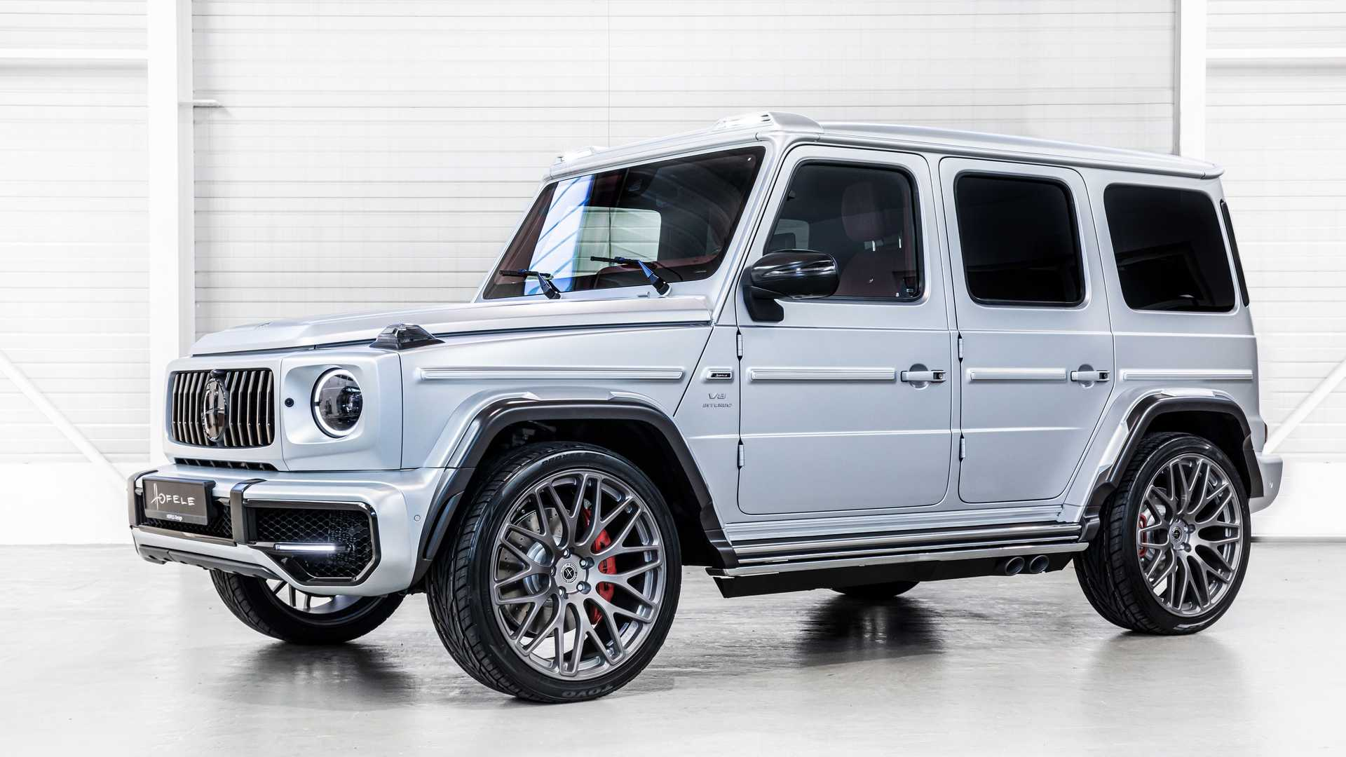 The Mercedes-Benz G-Class, and the AMG G63 in particular, is an aftermarket tuning favorite, and many tuners just don't know when to stop. Frankly speaking, we had our concerns about Hofele, but its latest take on the G-Class is just as fashionable as the rest of them.