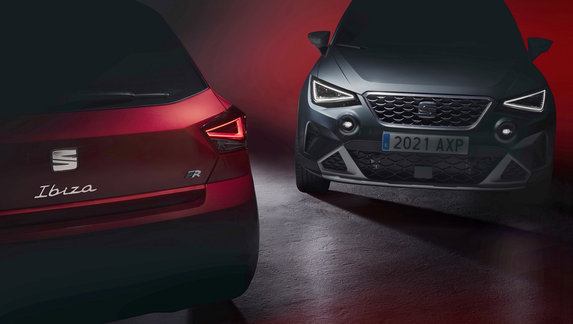 The latest generations of Seat's Arona SUV and Ibiza hatchback came out six months one after another in 2017, but their facelifted versions will be revealed side-by-side next week.