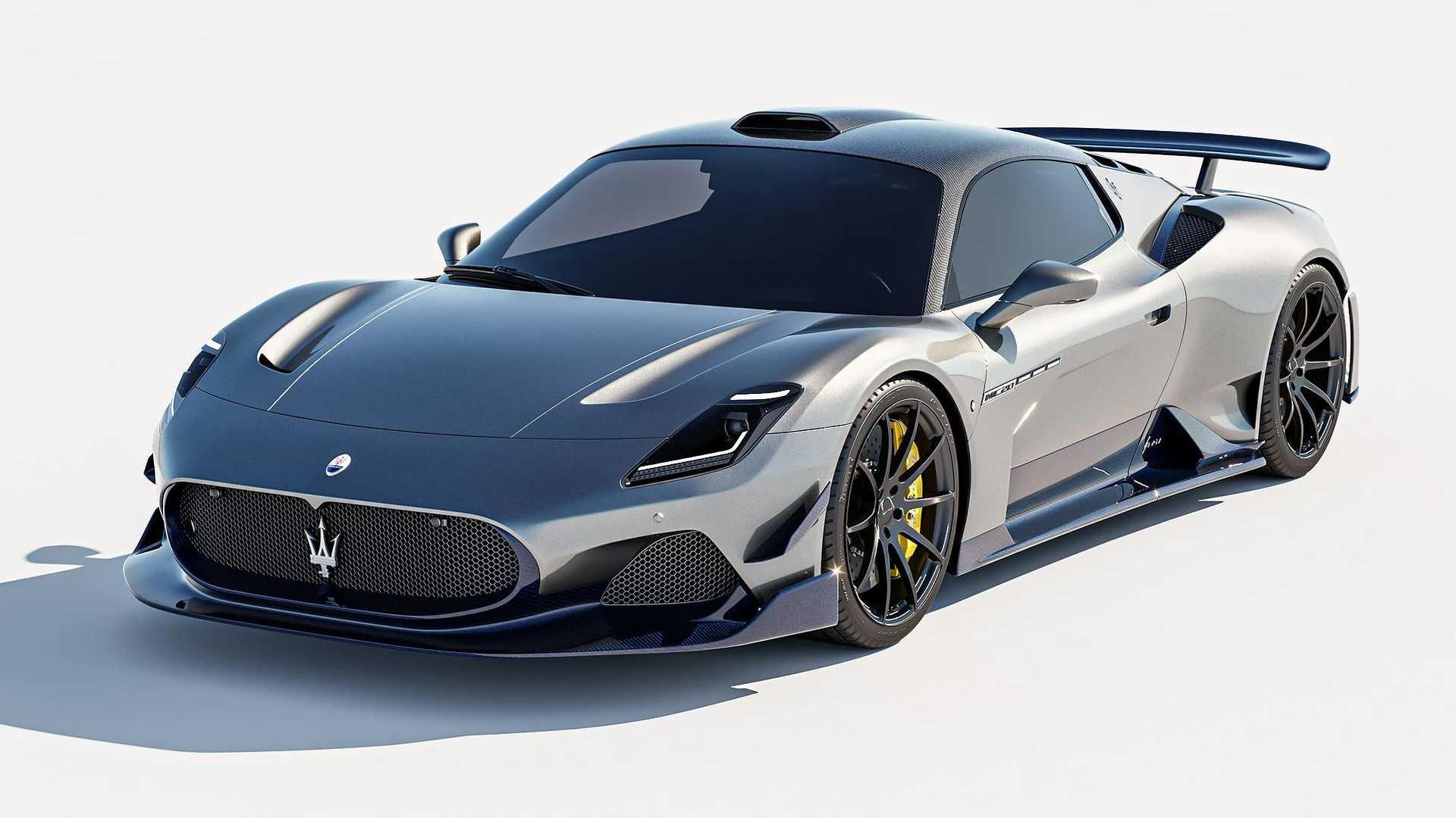 Дебютировавшая в сентябре прошлого года Maserati MC20 с тех пор так и не поступила в производство, а месяцем ранее на тесты вдруг снова выехали закамуфлированные образцы. Неужели компания решила что-то поменять в последний момент? Так или иначе, тюнерам надоело ждать, и они спроектировали для новинки стильный обвес.