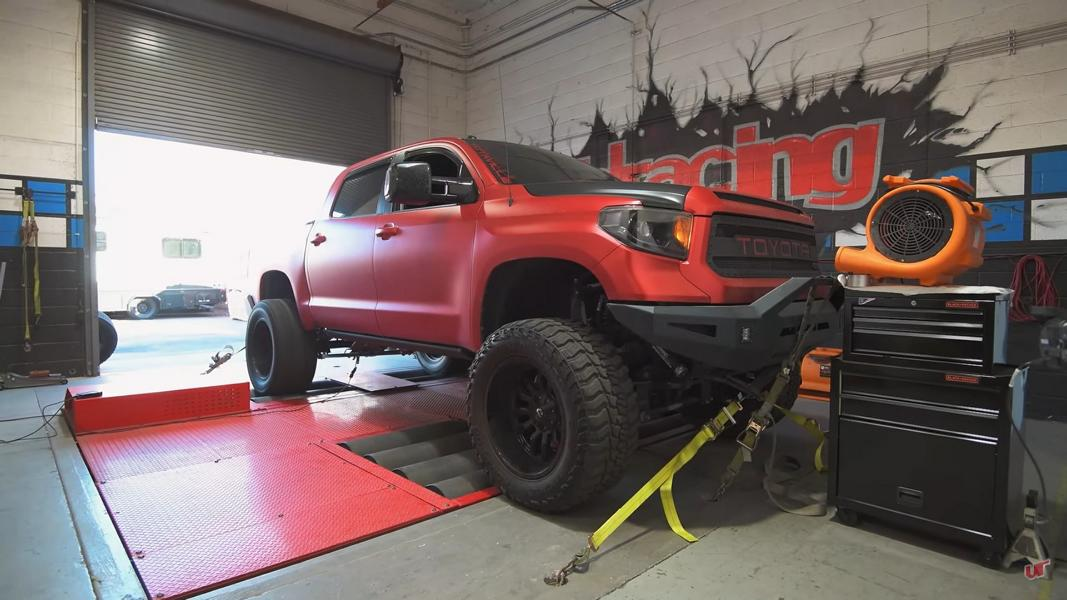 Modifying the second-gen Toyota Tundra (XK50) is easy and yields great results, so it is quite popular among tuning aficionados. The latest example comes from Vivid Racing, and it looks rather extreme.