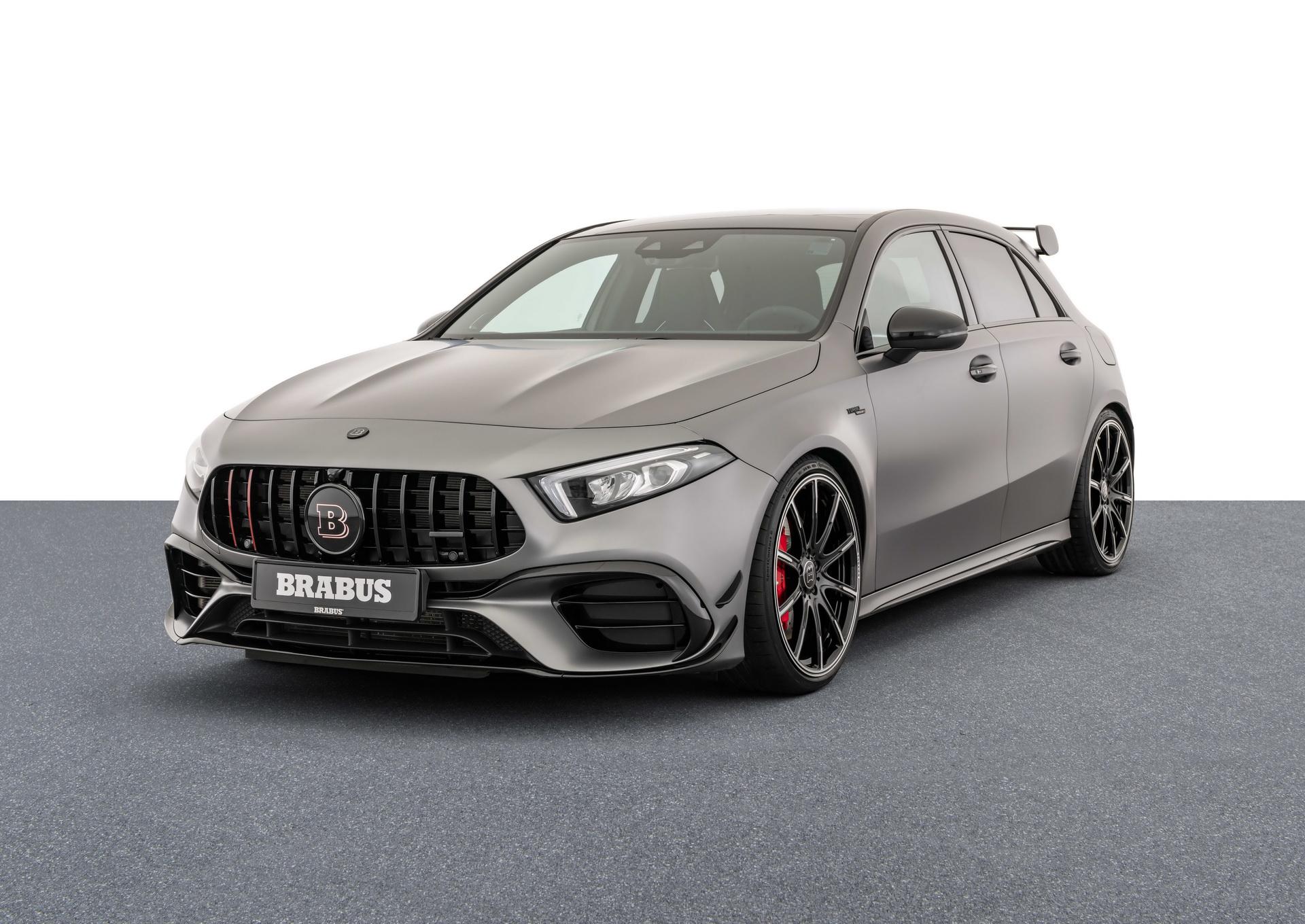 В начале года ателье Brabus анонсировало пакет опций для Mercedes-AMG A45 S нового поколения, но расценки обнародовали лишь сейчас.
