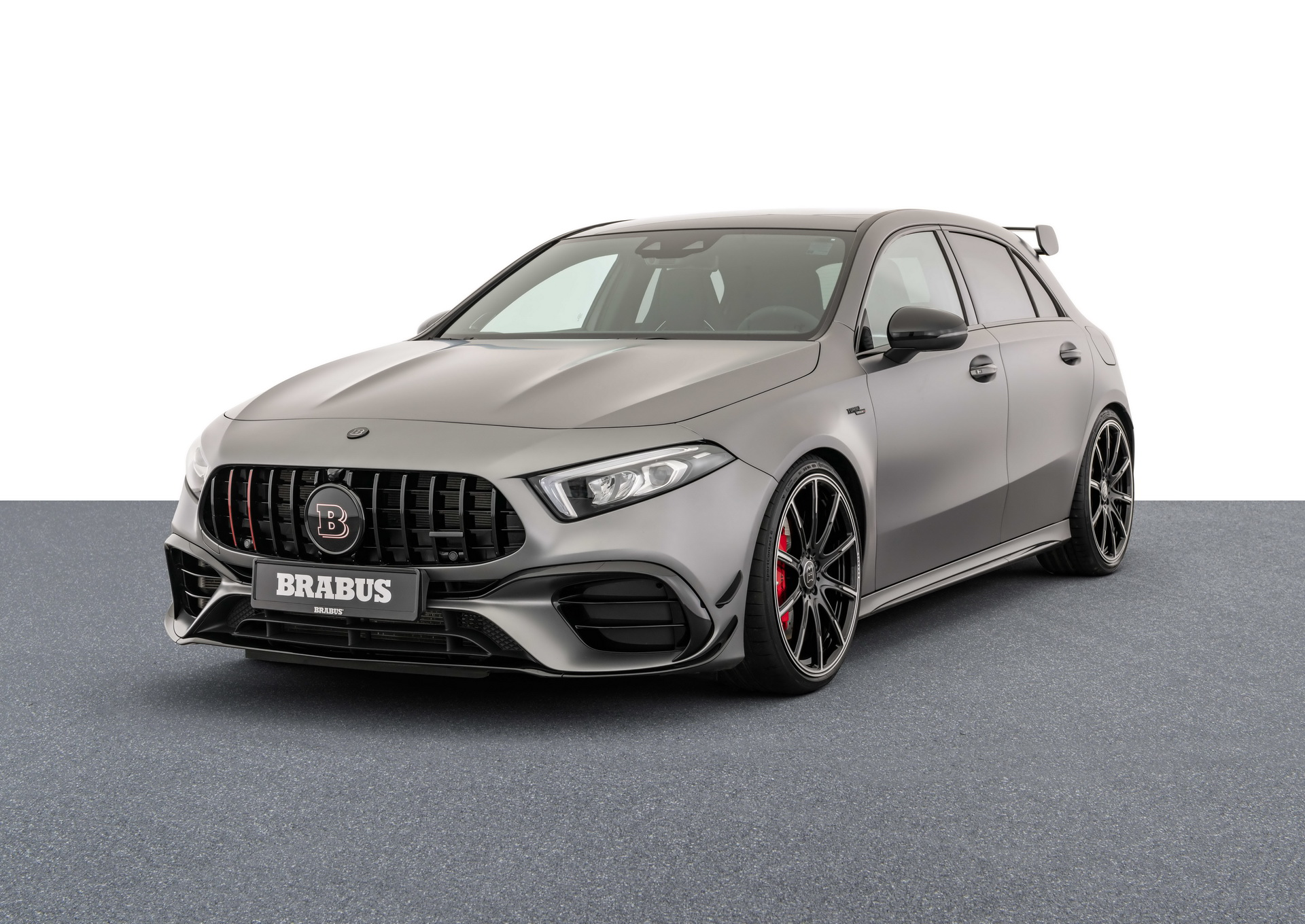 At the beginning of the year, Brabus announced a tuning kit for the latest-gen Mercedes-AMG A45 S, but the pricing details have not been revealed until now.