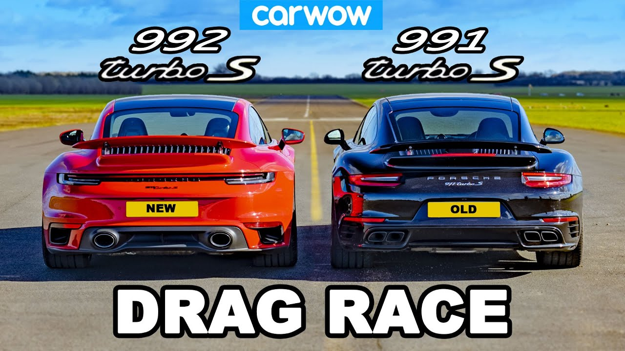 CarWOW has decided to see how the latest Porsche 911 Turbo S (gen.992) would fare against its older sibling, the Porsche 911 Turbo S (911.2). The outcome was rather surprising.