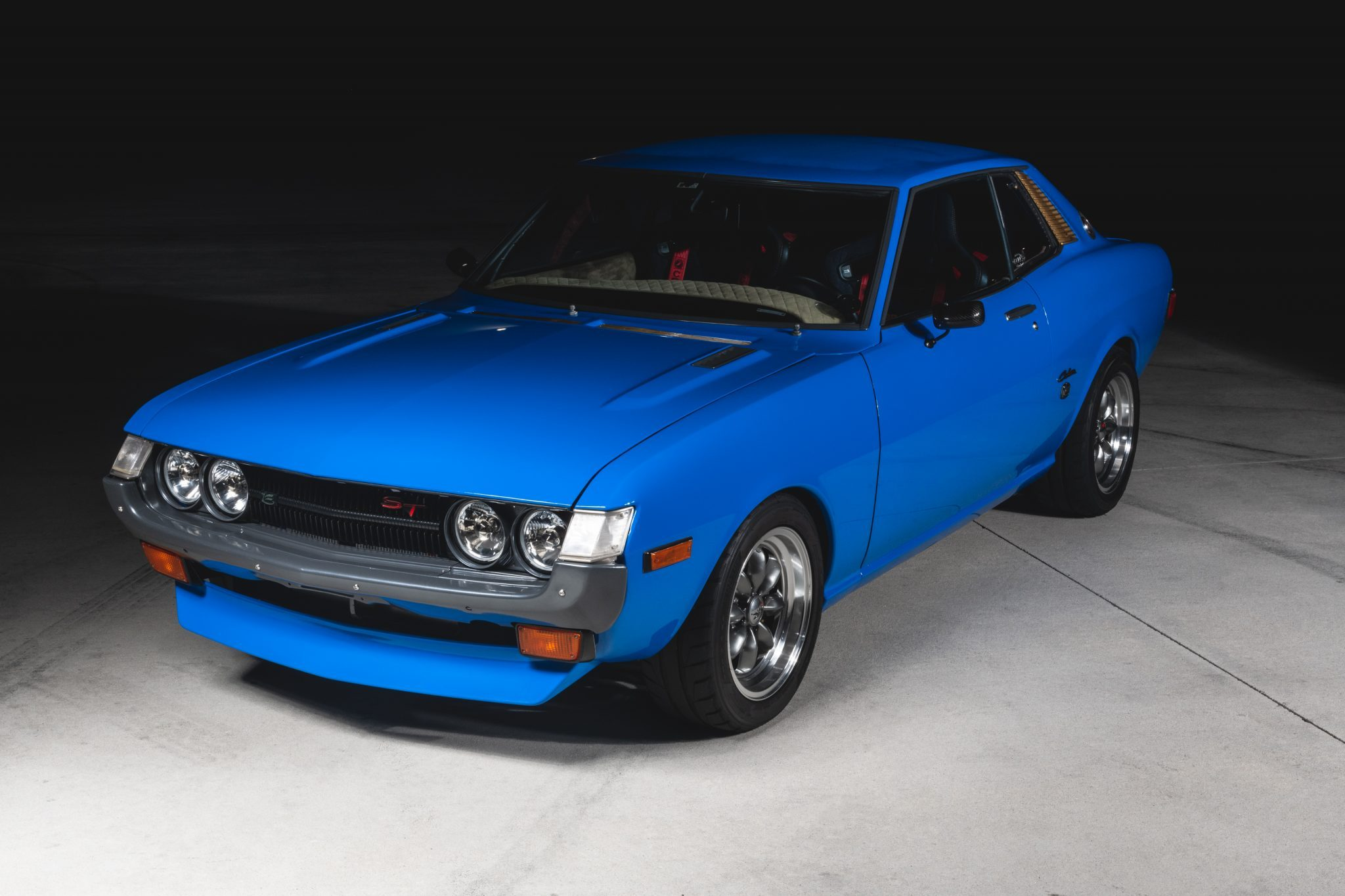 A recent Bring a Trailer ad is offering a 47-year-old Toyota Celica coupe for sale with barely 1,000 miles (1,600 km) of use since restoration. Spare parts, tools, a record and build details are included with the lot.