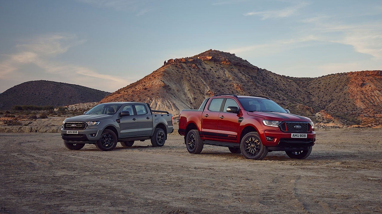 Two new Ford Ranger special editions, dubbed the Stormtrak and the Wolftrak, are underway to showrooms in Europe. Prices are pending.