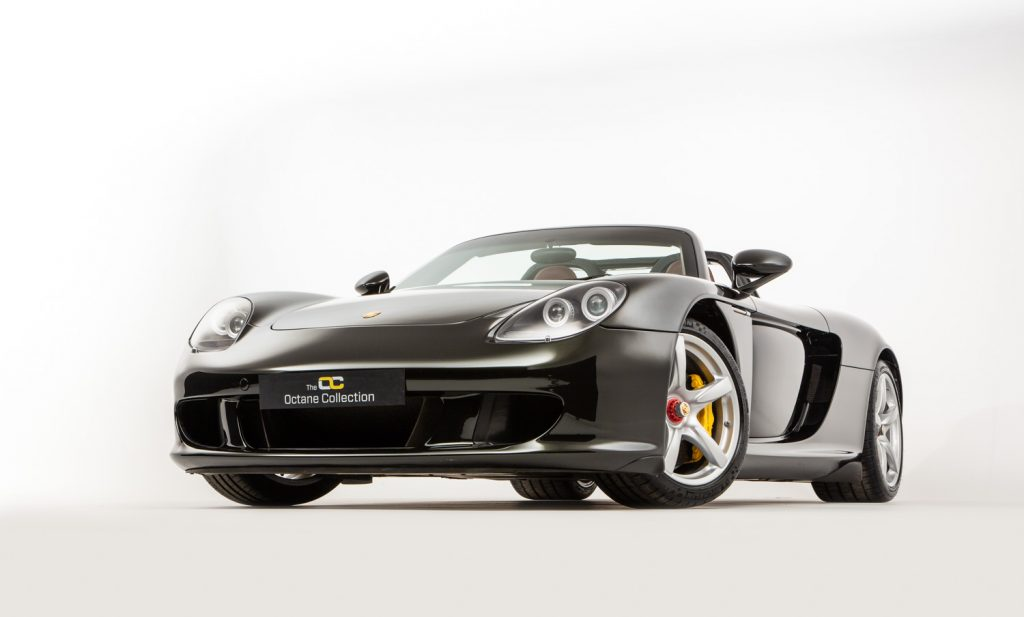 The Porsche Carrera GT one of the crowd favorites as Porsches go, with 1,270 units sold in 2004–2006 out of the originally planned 1,500. It is now reported that only one of these cars received a Dark Olive Green finish – and it is up for grabs right now.