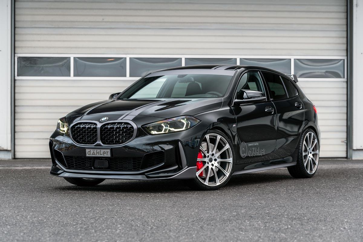 Новый хот-хэтч 128ti 2021 от баварского производителя BMW вернул к жизни модельный суффикс ti, что означает Turismo Internazionale. Впрочем, любителям международного туризма лучше присмотреться к варианту от ателье dÄhler Competition: он ещё стильнее и мощнее.