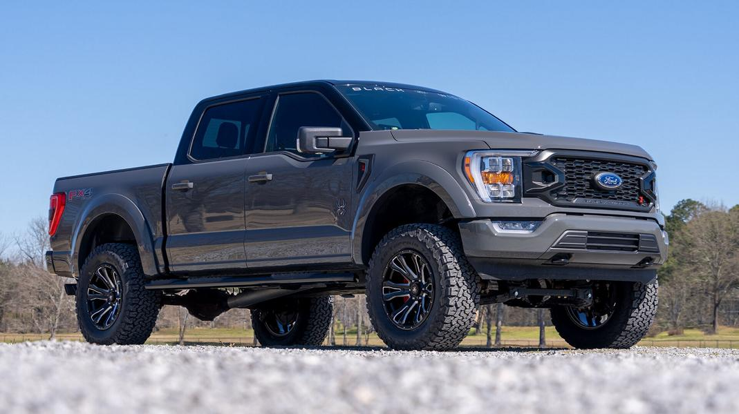 U.S.-based tuning house SCA Performance has announced a special version of the F-150 truck nicknamed Black Widow. Don't be mistaken: you can specify your truck finished in grey, red or even white, but it will boast spider-themed badges and styling throughout.