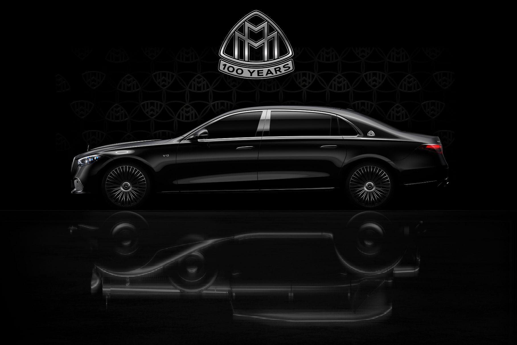 Mercedes will soon begin celebrating one hundred years since the establishment of its luxury sub-brand, Maybach. A teaser image previews a special V12 S-Class coming to the party this year.