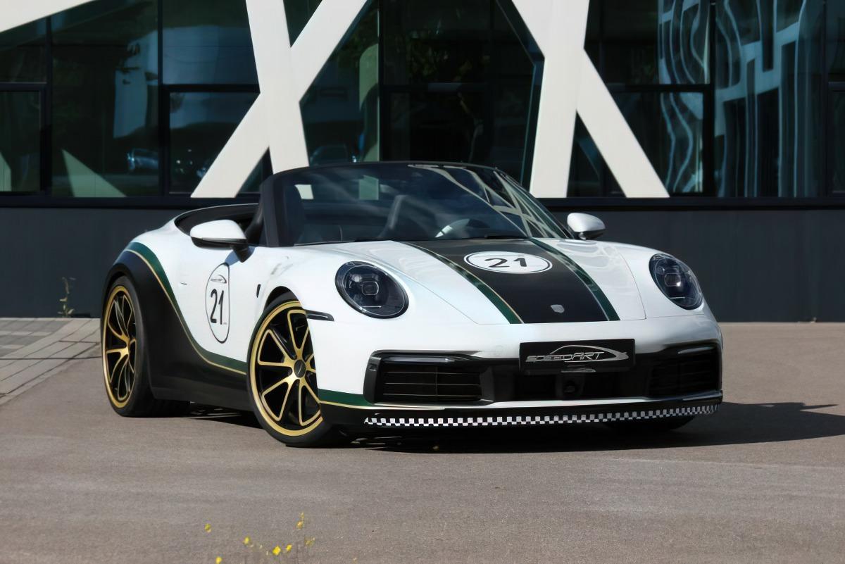 У покупателей новейшей Porsche Carrera 992-й генерации есть три выбора: взять совсем скромную базовую модель примерно за €110 000, доплатить €15 000 за S-версию или раскошелиться на топовое исполнение 4S (от €138 000). Но зачем, если есть тюнинг?