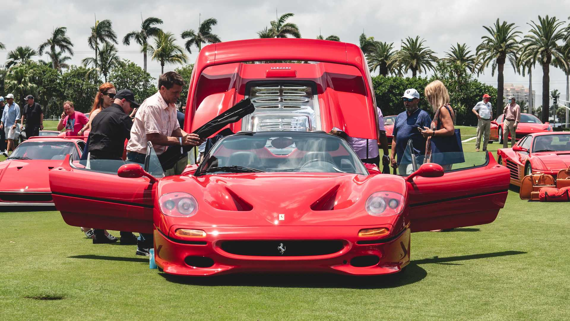 The 30th annual meeting of Ferrari owners known as the Cavallino Classic has taken place in Palm Beach, Florida, USA. Cavallino Magazine established the tradition in early 1990s.