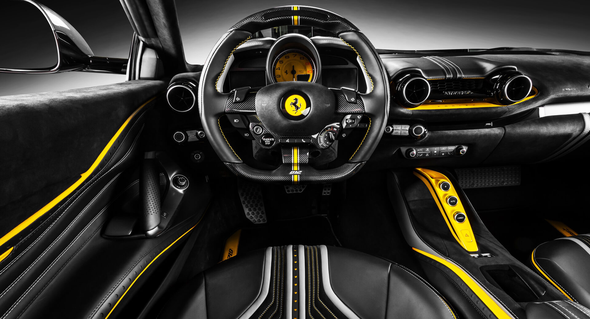Polish car customizer Carlex Design has finished working on another major project, this time around coming up with a truly unique interior for the 800-HP Ferrari 812 Superfast.