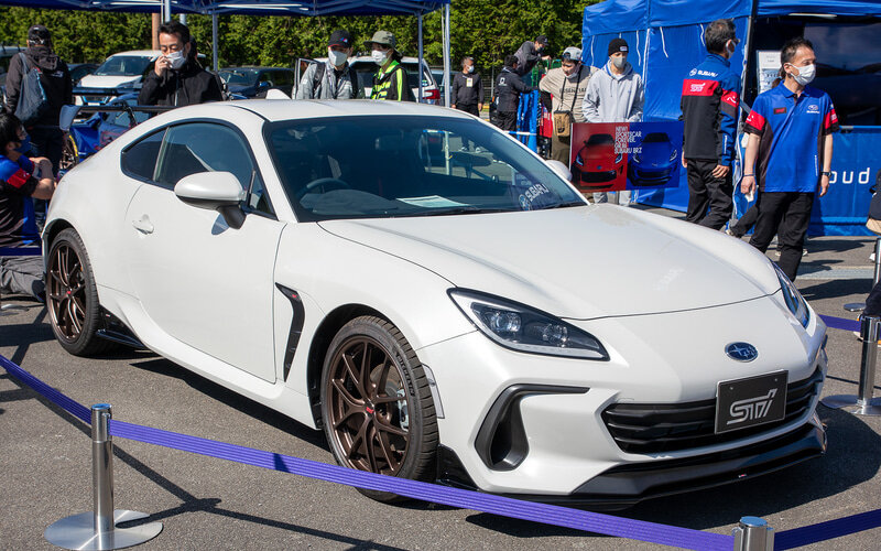 Following the first photos of the second-gen Subaru BRZ coupe outfitted with parts by Subaru Tecnica International (STI), the car has now officially hit the spotlight.