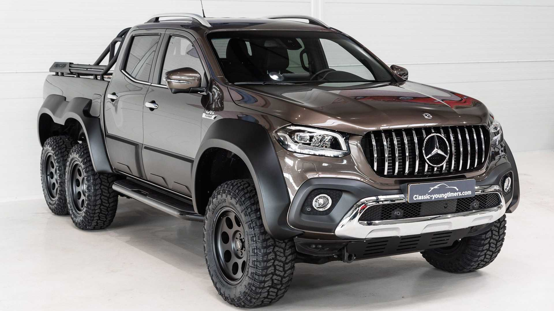 Mercedes will be permanently retiring the X-Class pickup line later this month, but tuners keep coming up with new and creative ways to turn the truck into something special.