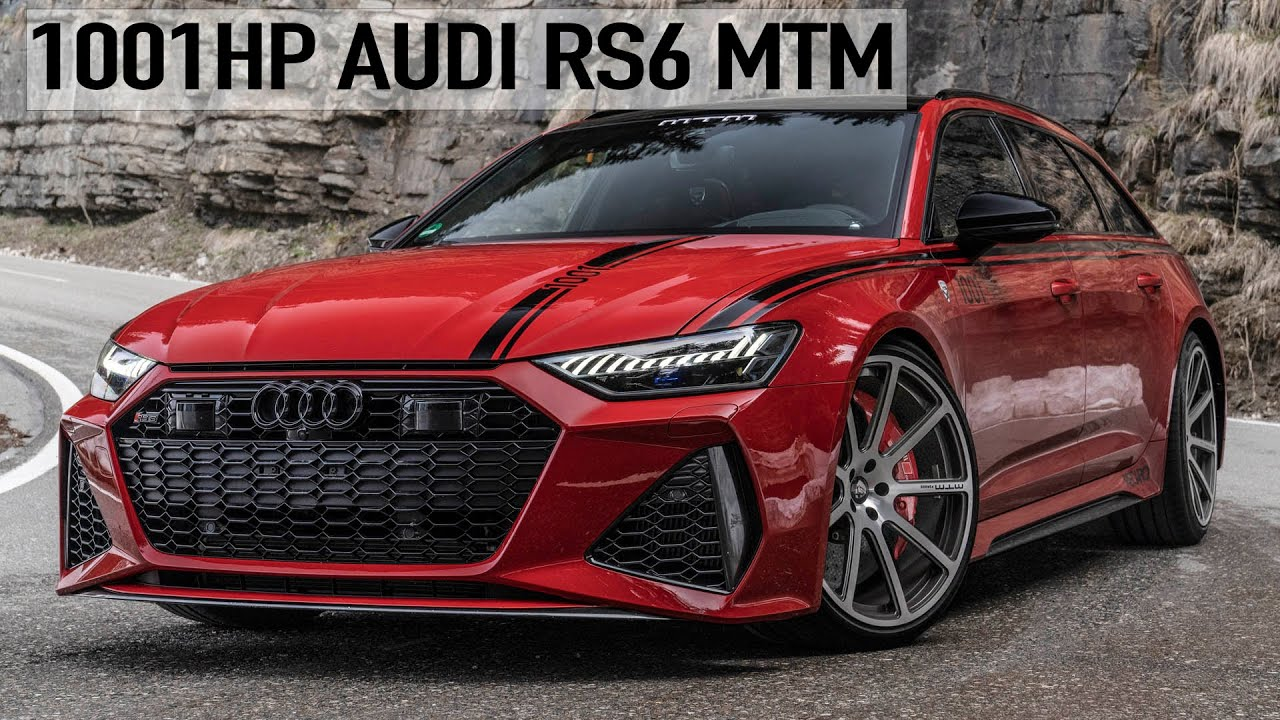 Auditography's latest six-minute video stars an Audi RS6 Avant C8 that received a massive performance upgrade by MTM and is now ready to conquer any elevation.