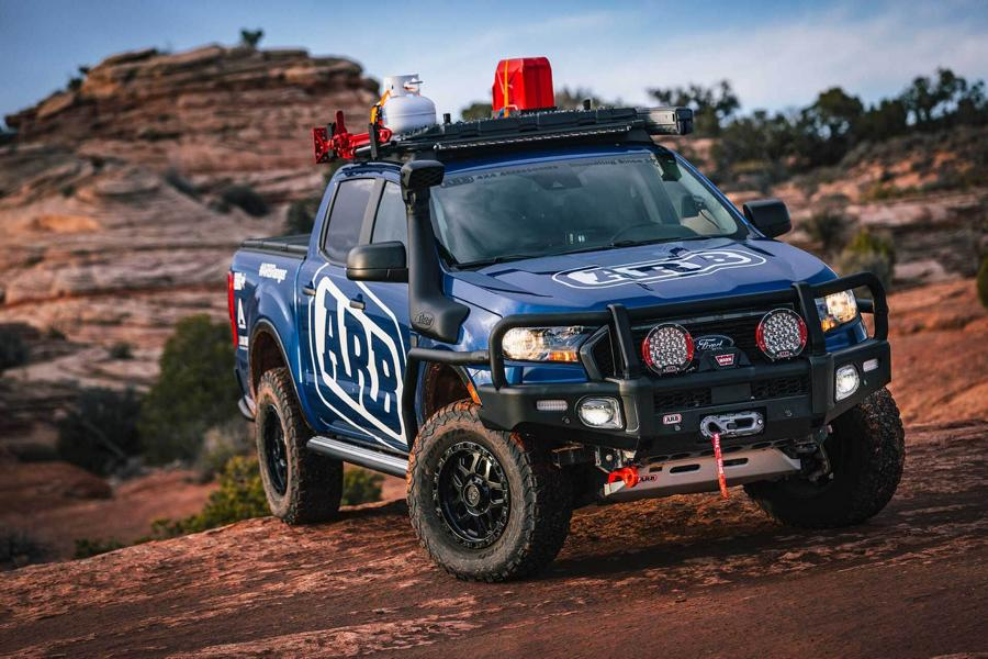 ARB, a tuning house founded in Australia in 1975, has announced a wide range of off-road-friendly options and accessories coming for the Ford Ranger pickup.