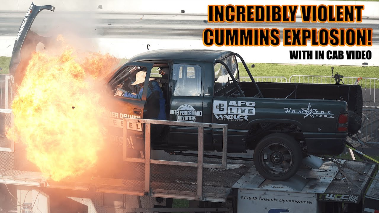 We are all used to reading about test stand explosions thanks to SpaceX providing the material over the past months, but today's story has a Dodge Ram pickup stealing the spotlight.