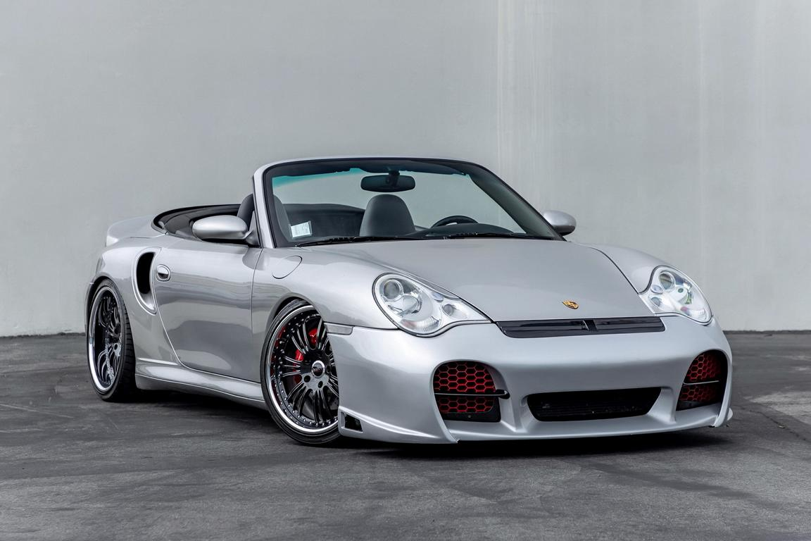 A tastefully tuned Porsche 911 Turbo convertible found a new owner in the USA, who parted with a considerable sum to obtain a 996-gen vehicle with Need For Speed: Porsche Unleashed styling.
