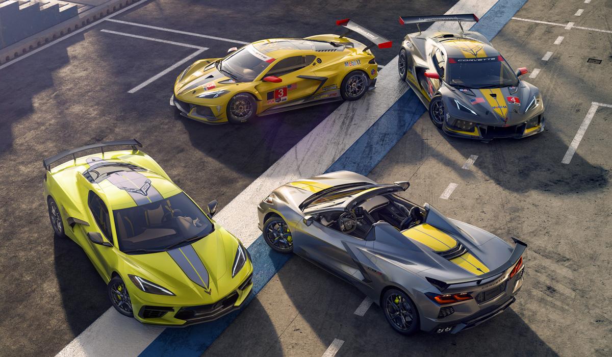 General Motors приостановил выпуск Corvette из-за дефицита чипов, но постоянная доработка машины продолжается.