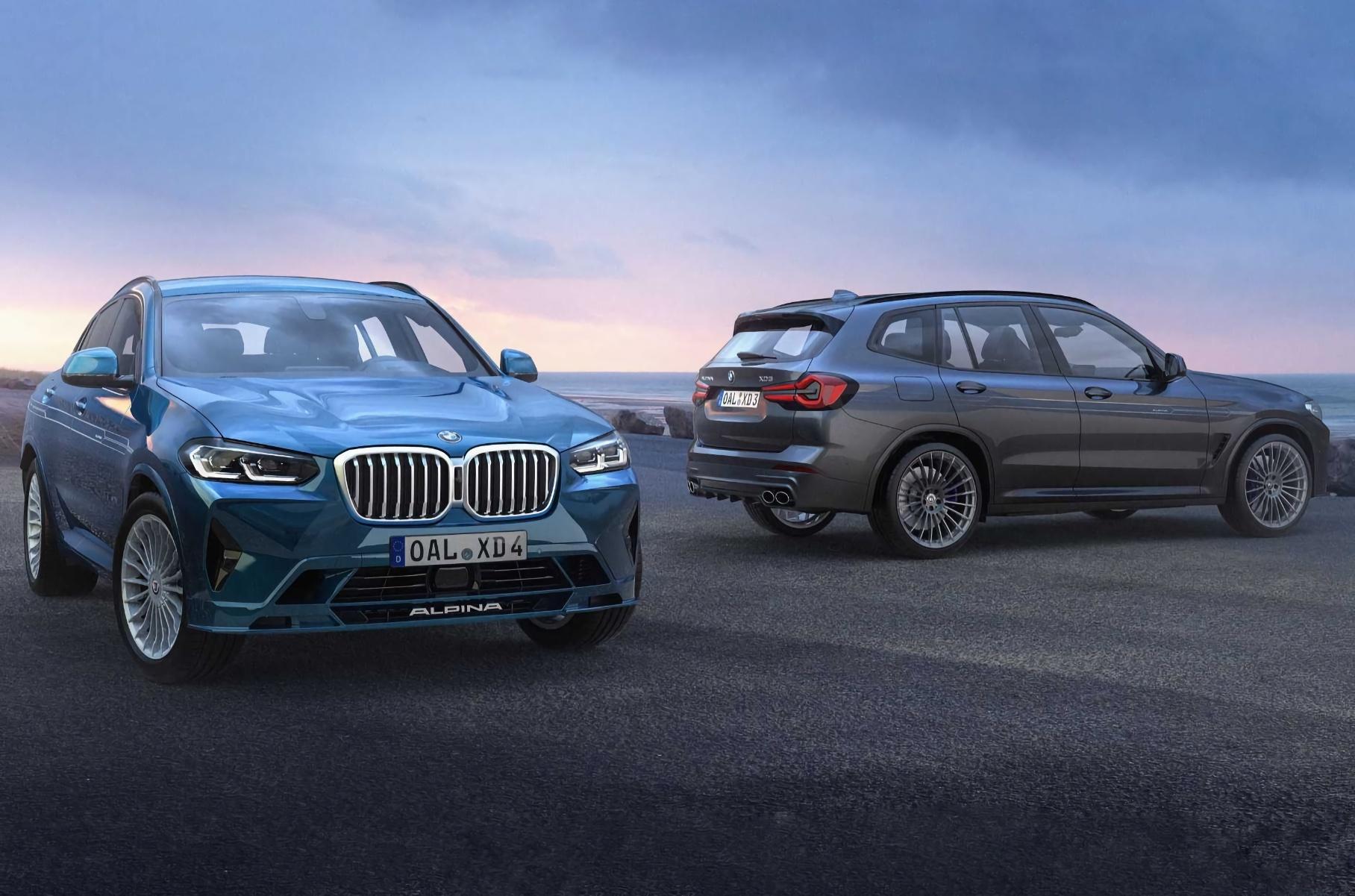 BMW X3 (см. видео) и X4 модернизированы буквально на днях, а теперь компания Alpina Automobiles представила рестайлинговые версии своих дизельных кроссоверов XD3 и XD4. Обе модели позаимствовали у X3 и X4 изменённый дизайн, а также новые консоль, блок управления климатом и мультимедийку iDrive 7.
