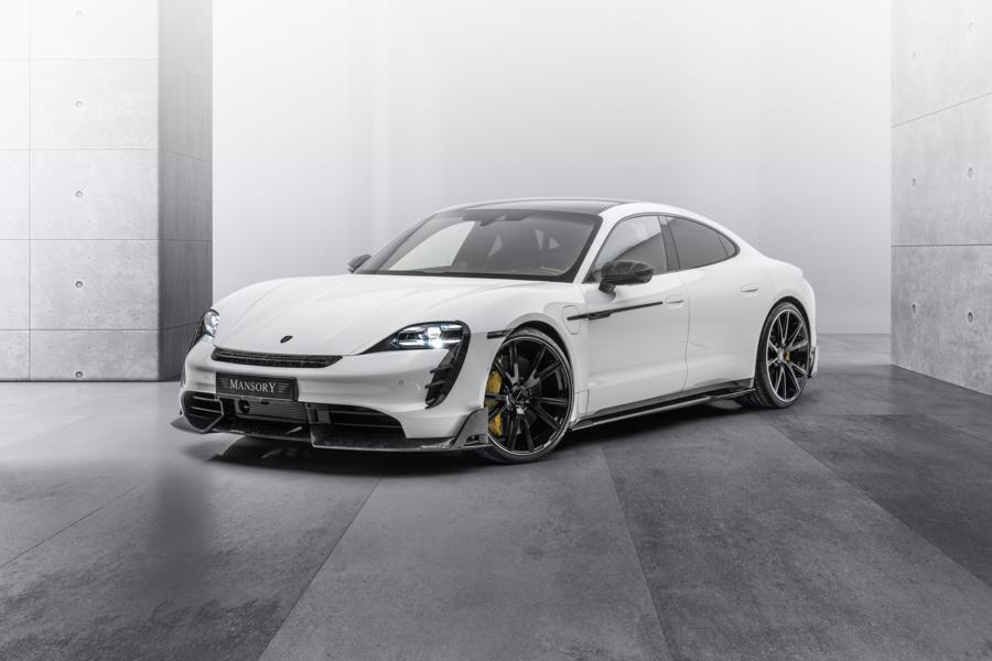 Владельцы электрического спорткара Porsche Taycan отныне могут заказать один из трёх пакетов индивидуализации от Mansory (или все сразу). Давайте разберём, что входит в каждый из них.