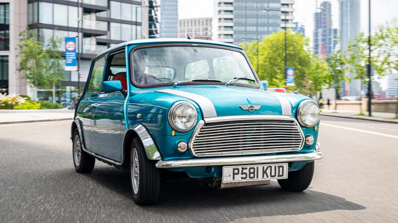 London Electric Cars (LEC for short) will ask for £25,000 to have your Rover Mini (see video) outfitted with an all-electric powertrain.