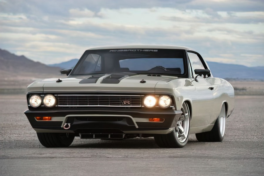 The Chevrolet Chevelle might be less famous than its peers Camaro and Corvette, but it still lends itself very well to upmarket modifications. Here's what tuners did to one such example seven years ago, winning a prize as a result.