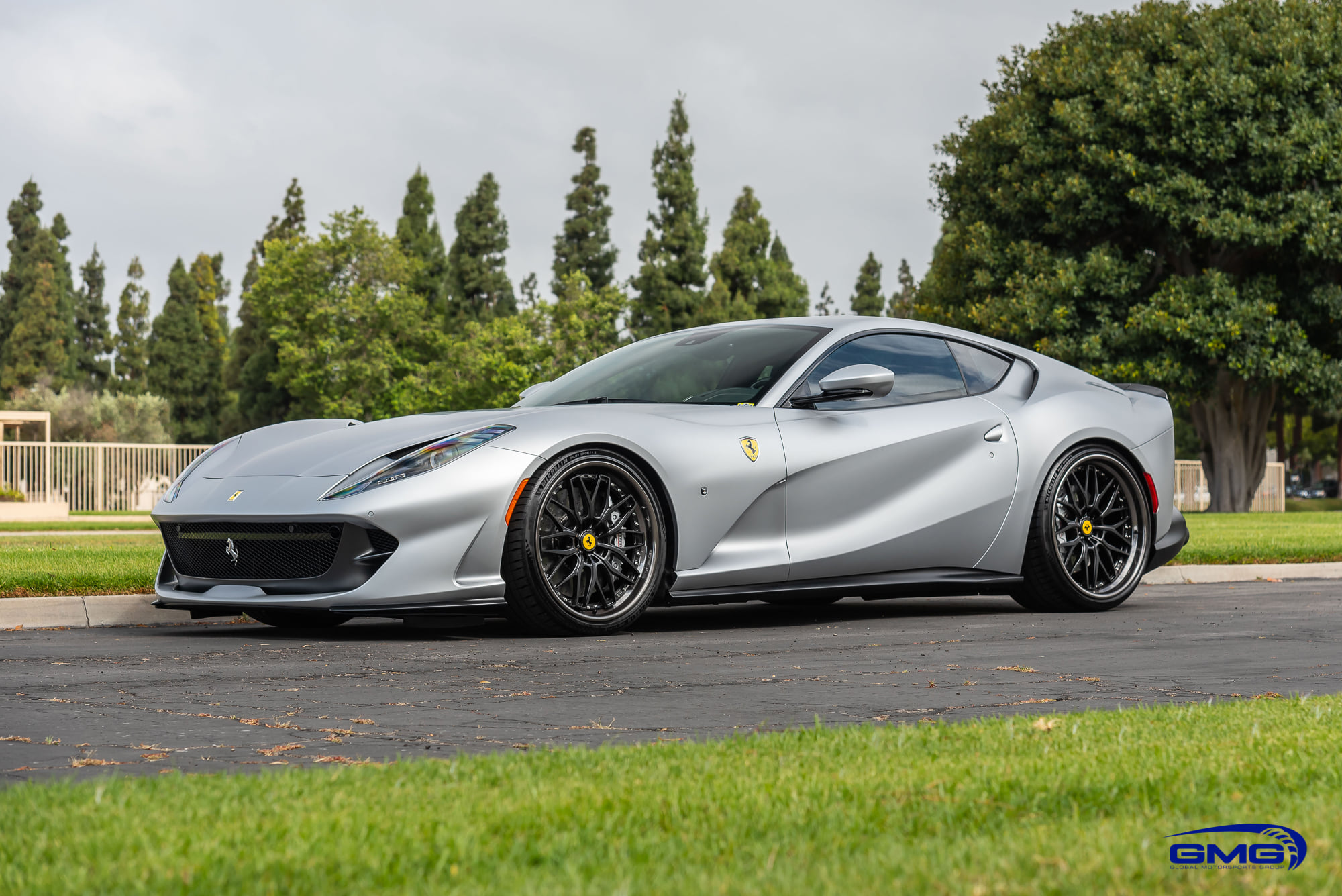 GMG Racing, a U.S.-based company specializing in tuning and servicing European supercars, has unveiled a brilliant custom Ferrari 812 Superfast put in a metallic grey body.