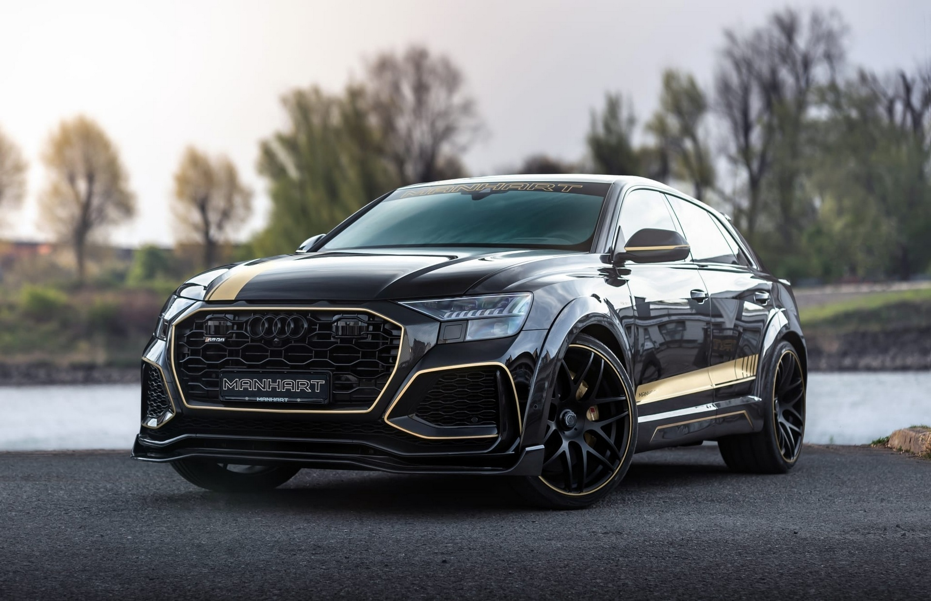 Manhart showed us its Audi RS Q8 styling ideas more than a year ago, but the first finished car has only now left the tuner's garage.