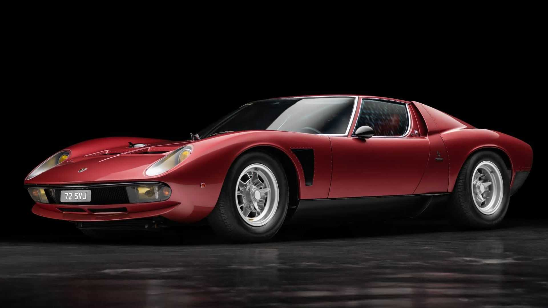 The iconic Lamborghini Miura is widely considered a distant ancestor of the modern Aventador. The Italian sports car maker built 764 such vehicles in the 1960s and 70s, out of which only three were outfitted to the SVJ spec. This is one of them.